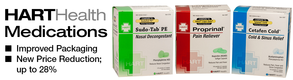 HART Health announces new medication packaging and price reductions.