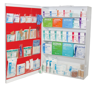 5 Shelf First Aid Station
