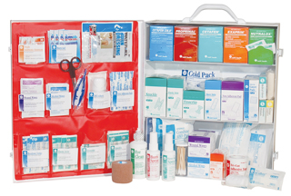 3 Shelf Deluxe Fill First Aid Station