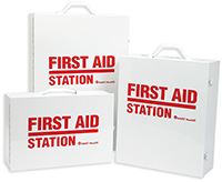 First Aid Stations