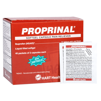 HART Health Retail - PROPRINAL Softgel Pain Reliever, HART